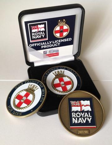 HMS POW Coin