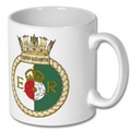 Official HMS Queen Elizabeth Crest Mug