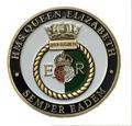 HMS Queen Elizabeth Crest Coin (25/100)