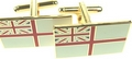Royal Navy White Ensign Cufflinks