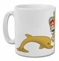 Official Royal Navy Submariners Dolphin Crest Mug