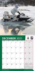 Royal Marine Commando 2021 Calendar