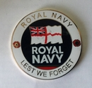 Official Royal Navy Lest We Forget Coin