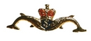 Royal Marine Submariners Dolphin Crest Pin