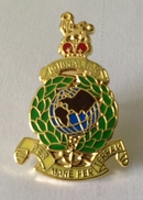 Royal Marine Globe And Laurel Pin