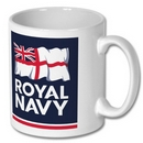 Official Royal Navy Logo Mug