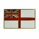 Royal Navy White Ensign Pin