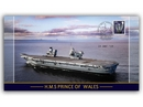 HMS Prince Of Wales Commissioning Stamp Cover