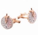 Ships Telegraph Cufflinks - Rose Gold